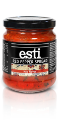 esti Red Pepper Spread - Hot Flavor