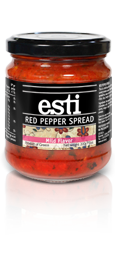 esti Red Pepper Spread - Mild Flavor